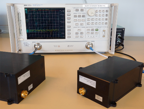 670 GHz Transmitter and Receiver Pair